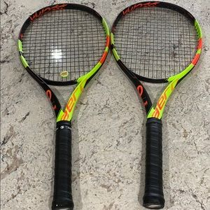 LIMITED EDITION tennis racquets